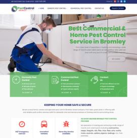 Pest Control Web Design